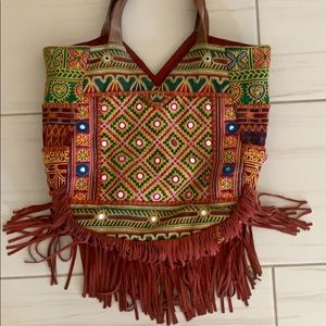 Sam Edelman fringe bag